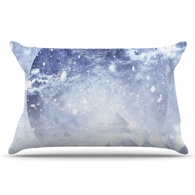 Even Mountains Get Cold by Ulf Harstedt Pillow Sham Size: King