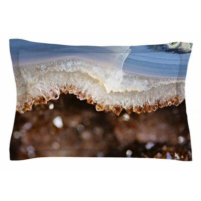 Quartz by Sylvia Cook Pillow Sham Size: Queen
