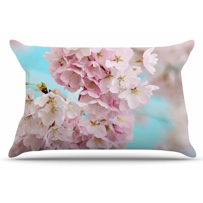 A Pastel Spring by Sylvia Cook Pillow Sham Size: King