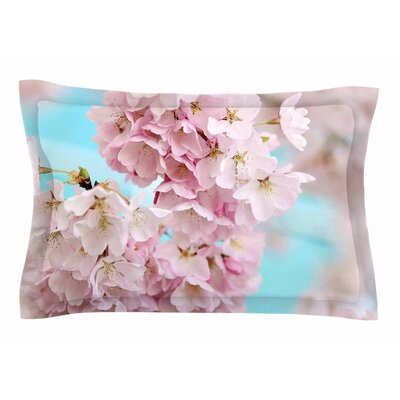 A Pastel Spring by Sylvia Cook Pillow Sham Size: Queen