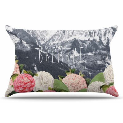 Breathe by Suzanne Carter Pillow Sham Size: King
