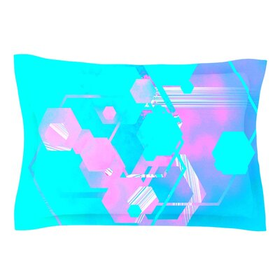 Emersion by Infinite Spray Art Pillow Sham Size: Queen