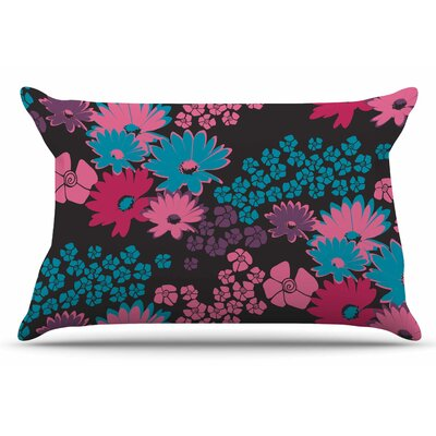 Berry Color Bouquet by Zara Martina Mansen Pillow Sham Size: King