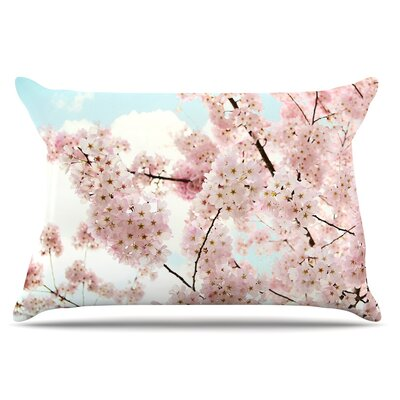 Spring Beauty by Sylvia Cook Pillow Sham Size: King