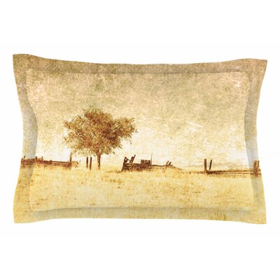 One Tree by Sylvia Coomes Pillow Sham Size: Queen