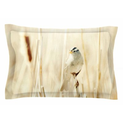 Bird in Ethereal Light by Sylvia Coomes Pillow Sham Size: Queen