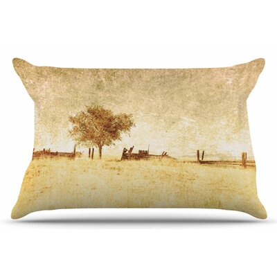 One Tree by Sylvia Coomes Pillow Sham Size: King