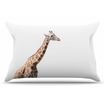 Giraffe by Sylvia Coomes Pillow Sham Size: King