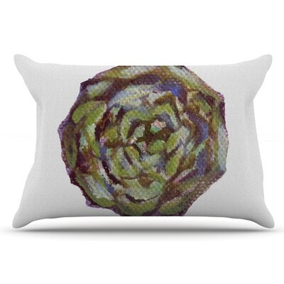 Artichoke by Theresa Giolzetti Pillow Sham Size: King