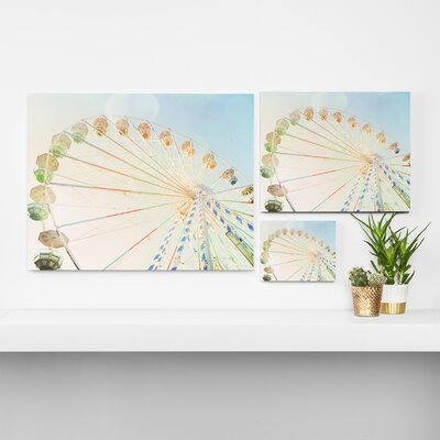 'Ferris Wheel' Photographic Print on Wrapped Canvas