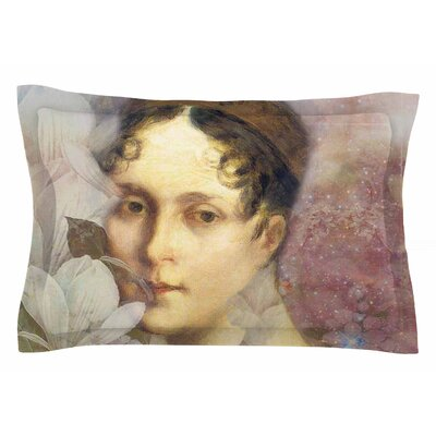 Magnolia Dream by Suzanne Carter Pillow Sham Size: Queen