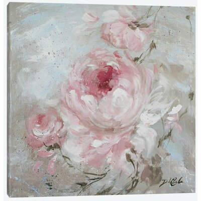 'Blush II' Painting Print on Wrapped Canvas