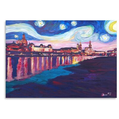 Starry Night in Dresden Painting USSC7452 33589350