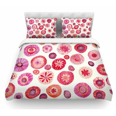 All the Flowers by Nic Squirrell Featherweight Duvet Cover Size: Queen