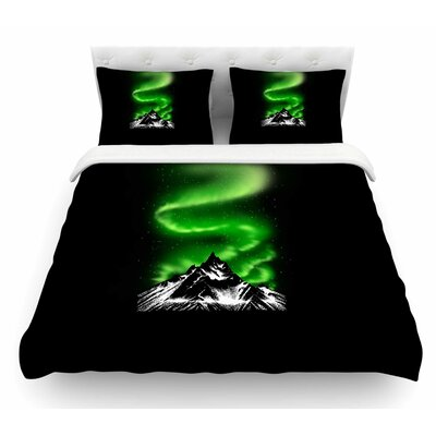 Aurora by BarmalisiRTB Featherweight Duvet Cover Size: King