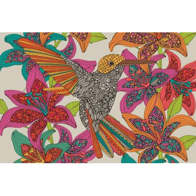 Hummingbird Puzzle II Graphic Art on Wrapped Canvas USSC8913 33600067