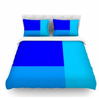 Bluz V.3 by Trebam Geometric Featherweight Duvet Cover Size: King