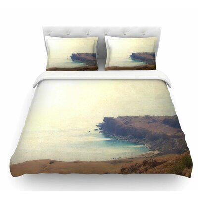 Sea Dream by Sylvia Coomes Coastal Featherweight Duvet Cover Size: Queen