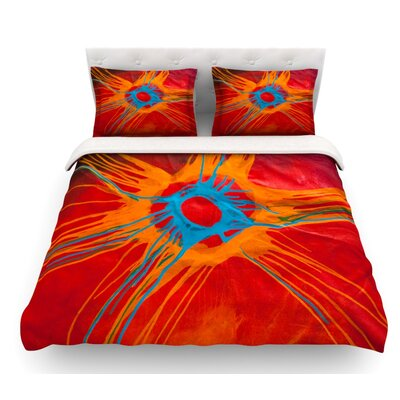 Eclipse by Steve Dix Featherweight Duvet Cover Size: Twin