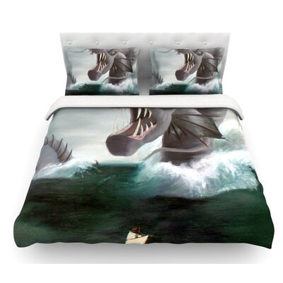 Vessel by Sophy Tuttle Featherweight Duvet Cover Size: Queen