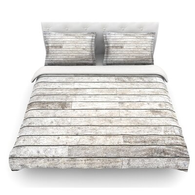 Wooden Walk by Susan Sanders Featherweight Duvet Cover Size: King
