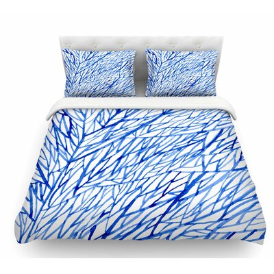 Branches by Strawberringo Featherweight Duvet Cover Size: King
