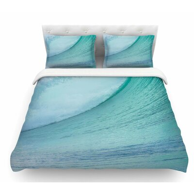 Ocean Wave by Susan Sanders Featherweight Duvet Cover Size: King