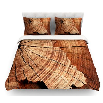 Rustic Dream by Susan Sanders Wood Featherweight Duvet Cover Size: King