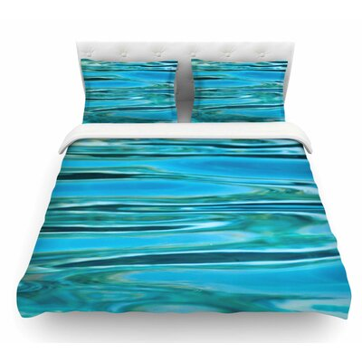 Water by Susan Sanders Featherweight Duvet Cover Size: Twin