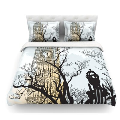 Big Ben by Sam Posnick Featherweight Duvet Cover Size: Twin