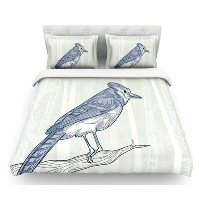 Jay by Sam Posnick Featherweight Duvet Cover Size: Twin