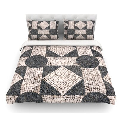 Mosaic by Susan Sanders Featherweight Duvet Cover Size: Twin