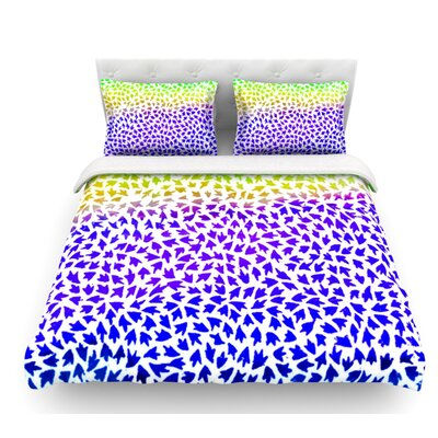 Arrows by Sreetama Ray Featherweight Duvet Cover Size: Twin