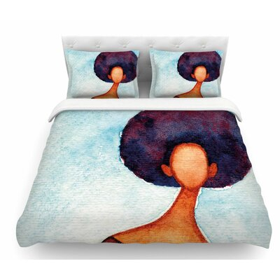 A Sense of Self by Stacey-Ann Cole Featherweight Duvet Cover Size: King