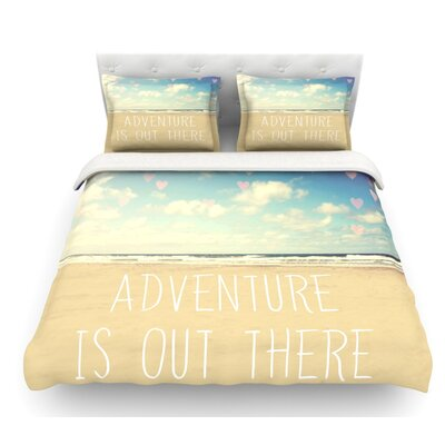 Adventure is Out There by Sylvia Cook Featherweight Duvet Cover Size: King