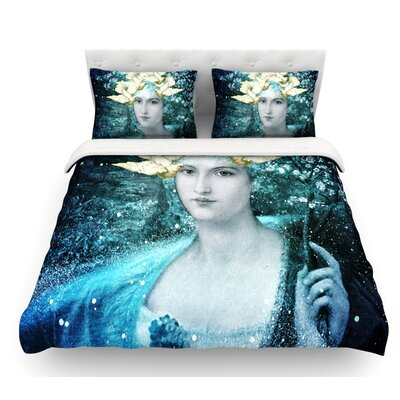 Adorned by Suzanne Carter Featherweight Duvet Cover Size: Twin