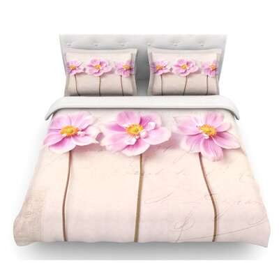 Anemone Trio by Sylvia Cook Featherweight Duvet Cover Size: King