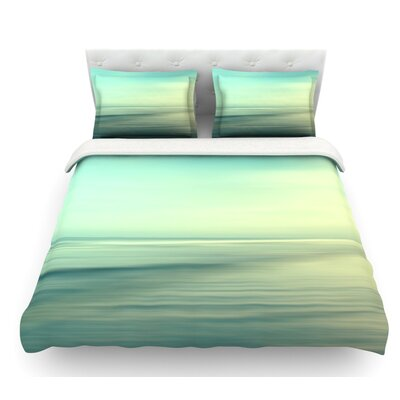 Beach by Sylvia Cook Featherweight Duvet Cover Size: King