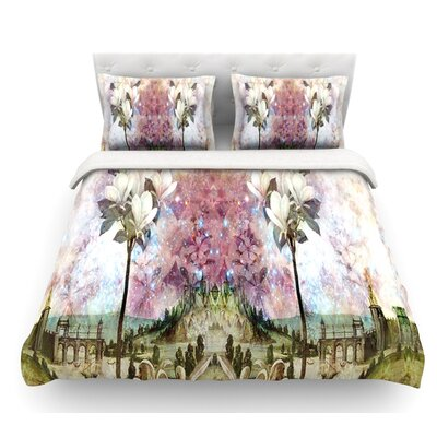 The Magnolia Trees by Suzanne Carter Featherweight Duvet Cover Size: King