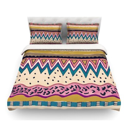 Koko by Vasare Nar Featherweight Duvet Cover Size: Queen