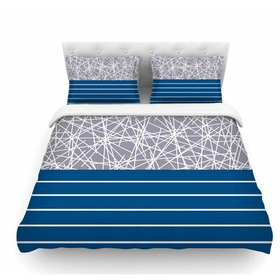 Odvojen by Trebam Abstract Featherweight Duvet Cover Size: King