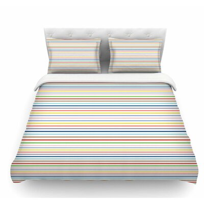 Pruge by Trebam Stripes Featherweight Duvet Cover Size: Twin