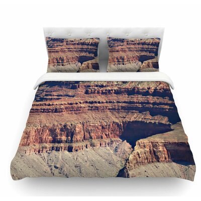 Grand Canyon Landscape 1 by Sylvia Coomes Featherweight Duvet Cover Size: Twin