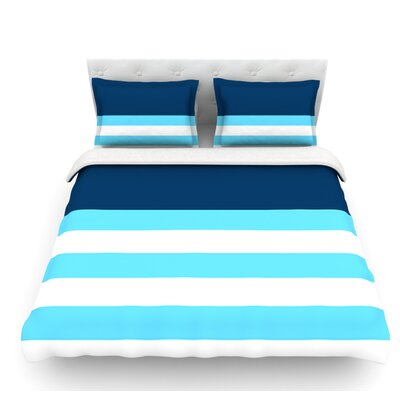 Nauticki by Trebam Featherweight Duvet Cover Size: Queen