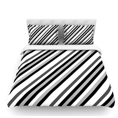 Kos by Trebam Diagonal Featherweight Duvet Cover Size: King