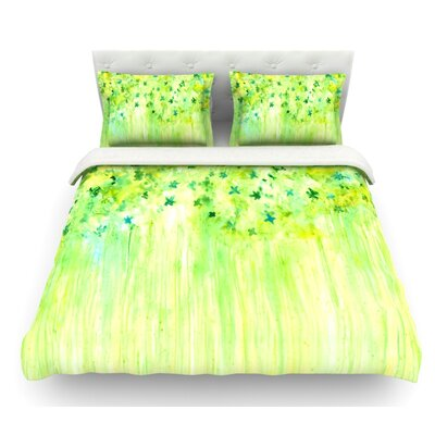 April Showers by Rosie Brown Featherweight Duvet Cover Size: Twin
