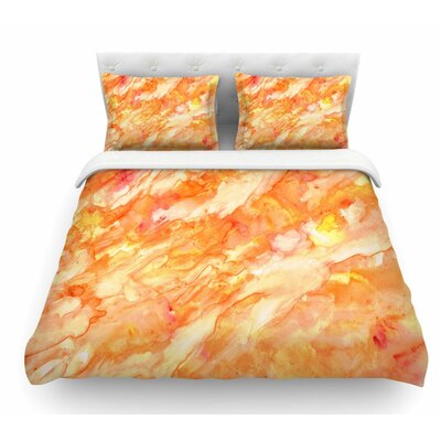 Autumn by Rosie Brown Featherweight Duvet Cover Size: Queen