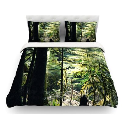 Enchanted Forest by Robin Dickinson Featherweight Duvet Cover Size: Twin
