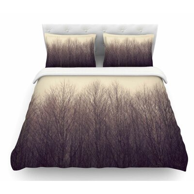 Forest by Robin Dickinson Featherweight Duvet Cover Size: King
