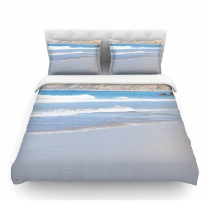 California Beach by Sylvia Coomes Featherweight Duvet Cover Size: King